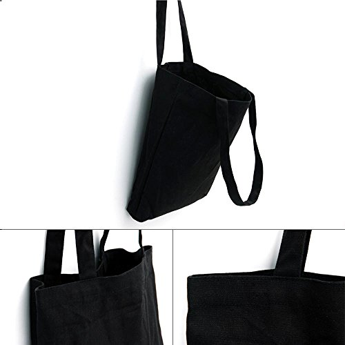 asaps lona bolso con impresión de tela/lona bolso/bolsa de hombro/Moderno y kennzeichnende–Bolso/lona/lona bolsa black A