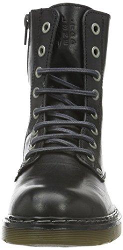 BULLBOXER Damen 875m82701g Boots Schwarz (Black 2495)