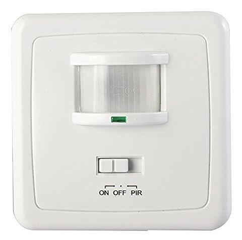 1200 W avec détecteur de mouvement mural à infrarouge interrupteur