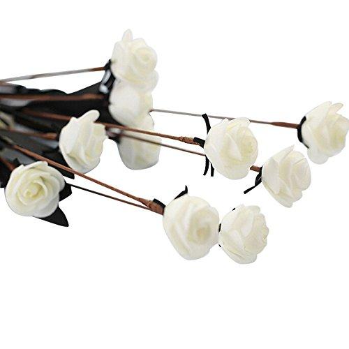 VWTTV künstliche PE gefälschte Blume Rose Blume Simulation Blume kleine Rose Schaum künstliche Blume Hochzeitsstrauß Braut Hortensie Dekoration -