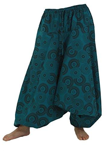 Guru-Shop -  Pantaloni  - Donna Turchese