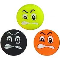 3 Smiley Tenis Emoji Antivibradores Angry Face