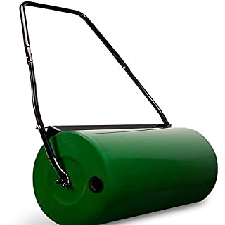 Garden Lawn Roller 60 Kg Drum Incl. Scraper Bar✔ Heavy Duty✔ Collapsible Handle✔ Fillable With Sand Or Water✔ 60cm Working Width✔