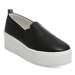 TEN Black Leather Moccasin
