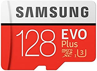 Samsung EVO Plus Grade 3 Class 10 128GB MicroSDXC Memory Card with SD Adapter (MB-MC128GA/IN)