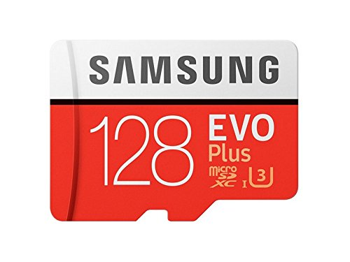 Samsung EVO Plus 32GB microSD Card, Red/Grey