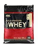 Optimum Nutrition Gold Standard Whey Eiweißpulver (mit Glutamin und Aminosäuren, Protein Shake von ON), Vanilla Ice Cream, 146 Portionen, 4.54kg