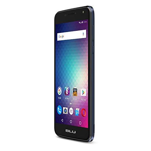 BLU Duration Max Smartphone ohne Vertrag mit 14 cm (5,5 Zoll), 4G, 16 GB + 2 GB RAM, Akku 3700 mAh-blau