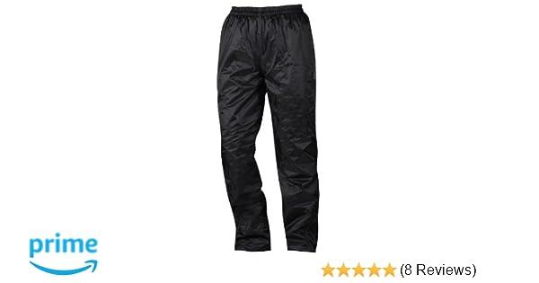 XXL NERVE 1512070404/_06 Nebraska Thermal Rain Trousers Black