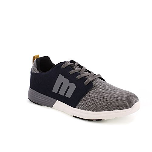 MTNG - Funner Chico - Baskets Sportives, femme gris (NYLON GRIS / SUEDE GRIS OSCURO)
