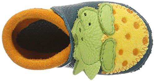 Pololo - Pololo Dino, Scarpine e pantofole primi passi Bimbo 0-24 Grün (Karibik)