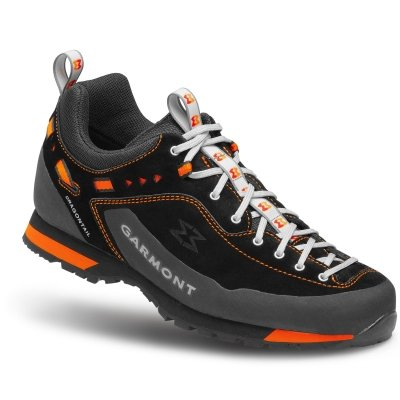 Garmont Dragontail LT Shoes Men Black/Orange Schuhgröße UK 10 | EU 44,5 2019 Schuhe