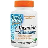 Doctor's Best, Suntheanine L-Theanine, 150 mg, 90 Capsules végétales
