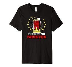 Bier Pong T-Shirt I Bierpong I Bier Pong Meister T-Shirt