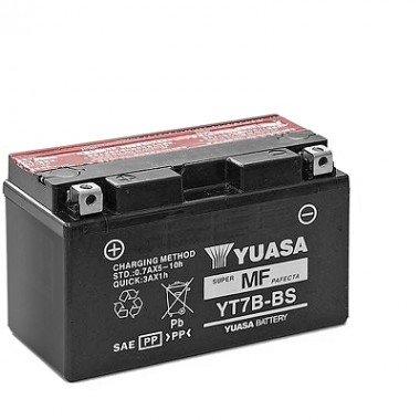 YT7B BS-BATTERIA YUASA-BATTERIA MOTO 12 V 6,5 A