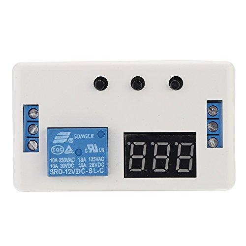 kkmoon 12V LED Automatisierung Delay Timer Schalter einstellbar Modul Relais Modul mit Fall -