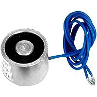 Imán para válvula solenoide, corriente directa, 12 V, fuerza de 25 N