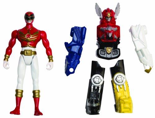 Rangers Megaforce Armor Figur - Roter Ranger und Megazord (Dress Up Power Rangers)