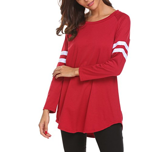 Nilover - Top à manches longues - Femme red