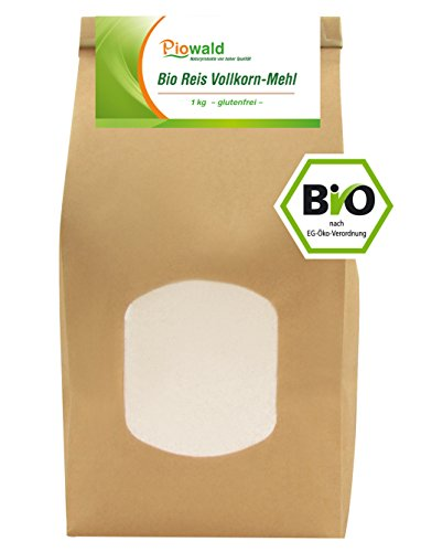 BIO Reis Vollkorn Mehl - 1000g glutenfrei (Bio-vollkorn-mehl)