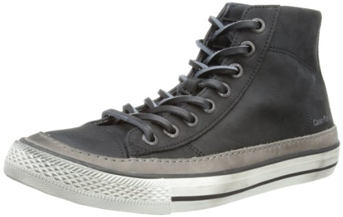 ck jeans Omero, Baskets Hautes homme Noir - Dark Grey/Black