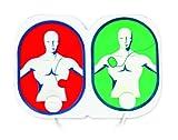 MEDIANA Ersatz-Hydrogel Elektroden für Defibrillator HeartOn A10 für Erwachsene und