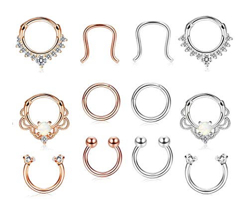 2pcs Stainless Steel Open Hoop Body Piercing Studs To Make One Feel At Ease And Energetic Body Jewelry