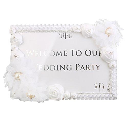 Willkommen Zu Unserer Hochzeit Zeichen Hochzeitsempfang Hochzeitsdekorationen Tischschild