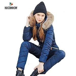 Fayella Skianzug, Winter Warme Kleidung Oberbekleidung Hochwertige Skianzug Frauen Skijacken + Hosen Outdoor Skianzüge