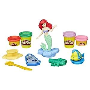 Play-Doh Ariel et ses amis du royaume sous-marin avec figurine princesse Disney