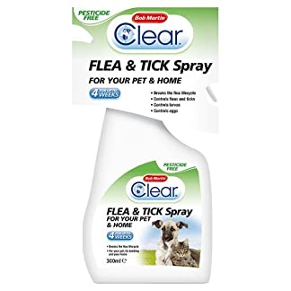 Bob Martin Clear Flea & Tick Spray for Cats and Home, 300ml 410duY2CpwL