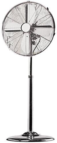 Luxus Stand-Ventilator Elegance Metall 95cm bis 120cm Höhe Durchmesser 40cm Kühler Raum-Lüfter Luft-Erfrischer Lüftung Klima-Gerät Venti Klima-Gerät