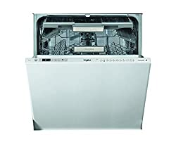 Whirlpool Supreme Clean WIO 3O33 DEL UK Built-In Dishwasher - Stainless Steel