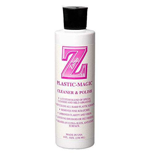 ZAINO Z-14 Plastic-Magic Cleaner & Polish