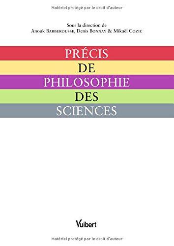 Précis de philosophie des sciences