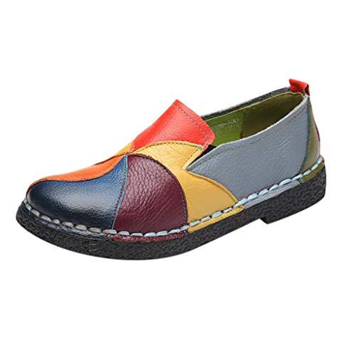 OIKAY Damen Schuhe Elastischer Eng Anliegender Socken Boot