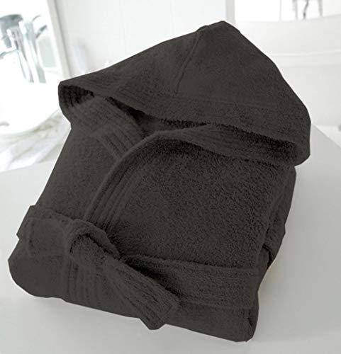 BellaCasa Casabella Uni Sex - Albornoz con Capucha (100% algodón, 500 g/m²),...