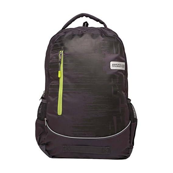 American Tourister Grey Backpack (AMT POP PLUS BKPK 03 -GREY)