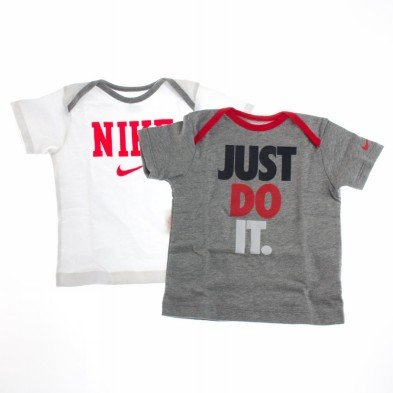 Nike Jungen Athletic Shirt (NIKE ATHLETIC TEES GIFT PACK T-SHIRT Gr 3-6 mesi JUNGE)