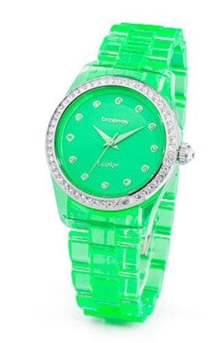 Relojes Brosway - para mujer relojes T-COLOR verde translúcido