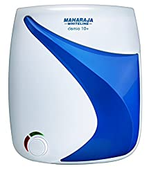Maharaja clemio 10-Plus 10-Litres Water Heater (White/Blue)