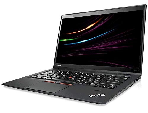 Lenovo ThinkPad X1 Carbon | Intel i7 | 2.6 GHz | 8 GB | 256 GB SSD | 14 Zoll | UHD 2560x1440 IPS | Web Cam | Windows 10 | D68 (Generalüberholt)