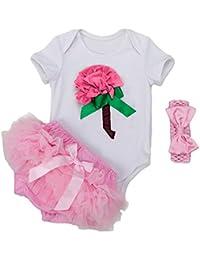MEIHAOWEI Baby Niñas Cotton Clothing Sets Outfits Infant Niñas Clothes