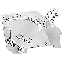 Regla de calibración de soldadura, calibre de leva de puente, calibre de prueba de