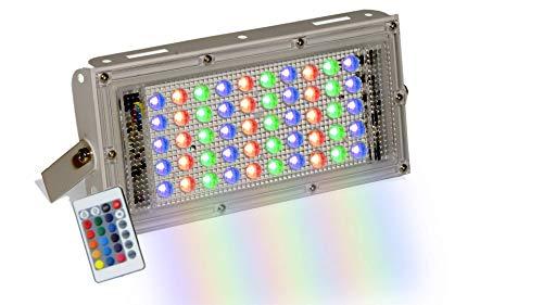 D'Mak 50 Watt Brick Ultra Bright Lens LED Flood Light