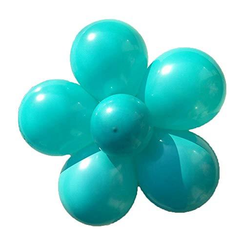 duyou Party Dekoration Geburtstag Geburtstag Hochzeit Hochzeit liefert Hochzeitsraum Hochzeitsarrangement Tiffany blau 100er Pack (Blau Party Tiffany Dekoration)
