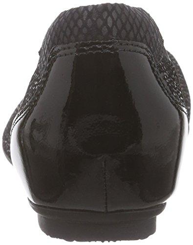 Tamaris 22139, Ballerines femme Noir (black Str./blk 009)