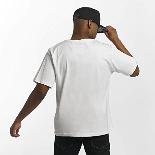 Dangerous DNGRS Uomo Maglieria/T-Shirt Race City Pikwire Bianco