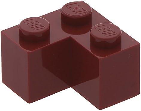 Lego 10 x 2 Brick 2 x x 2 Corner Dark Red B01N7YH5IA b3b57a