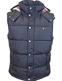 MENS NEW DESIGNER LEBREVE PADDY 11 GILET BLACK ALL SIZES S TO 2XL SPECIAL SALE PRICE £29.49